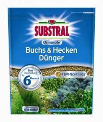 Substral Osmocote Hosszú hatástartamú trágya buxus/ tuják/fenyőfélék és sövénynövények számára  750g
