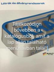 KRAUSE AKNALÉTRA NEMESACÉLBÓL 400MM 14 FOKOS